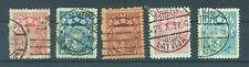 Lettland Briefmarken 1921 Freimarken Wappe Mi. 81-122