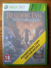 Resident Evil Operation Raccoon City Promo – Xbox 360 ~ Nuevo Y Sellado (juego Completo)