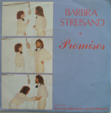 "7"" 1980 MINT- ! BARBRA STREISAND : Promises"