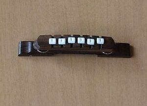 Steg / Brücke f.  Höfner, Framus Jazz-Gitarre, bridge for Hofner archtop guitar