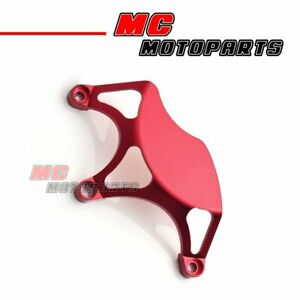 Red Half Billet Clutch Cover 1 pc For Ducati 748 749 999 1098 1198 S R CC10