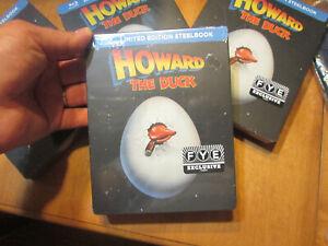 HOWARD THE DUCK BLU RAY Steelbook Limited Edition EXCLUSIVE FYE