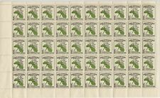 PHILIPPINES - 1948 - Sampaguita, Scott # 530 - Full Mint Sheet