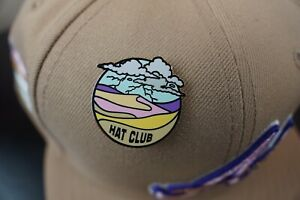 """Hat Club Exclusive Rare """"Sandstorm"""" Pinky Brim UV New Era 59Fifty Fitted MLB Pin"""