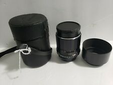 Pentax Takumar 105mm f/2.8 MF Lens For M42 w/Hood and case nice lens
