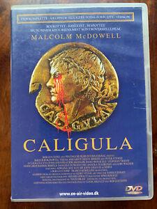 Caligula DVD 1979 Roman Emperor Drama Penthouse Movie Uncut Swedish Release
