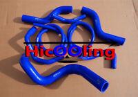 Blue For HOLDEN COMMODORE VZ 3.6L V6 2004-2006 silicone radiator heater hose