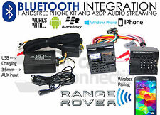 RANGE Rover Mk lo streaming Bluetooth Vivavoce III chiamate L322 AUX MP3 iPhone Sony