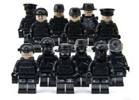 Custom Military SWAT Soldiers Boat Toys Army Swat Tactical Police MiniFigures