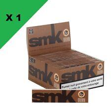 Smoking SMK Slim brown boite / box de 50 carnets SMK Slim