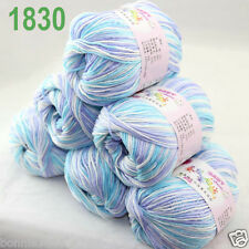 Sale 6 ballsx 50gr DK Baby Soft Cashmere Silk Wool hand knitting Crochet Yarn 30