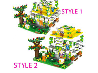 MYWORLD Series Forest Cave Set 657 Pcs Kids Toy 2-in-1 Set Building Game