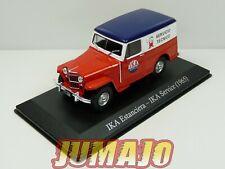 SER10 1/43 SALVAT Vehiculos Servicios IKA Estanciera service 1965 jeep willys s