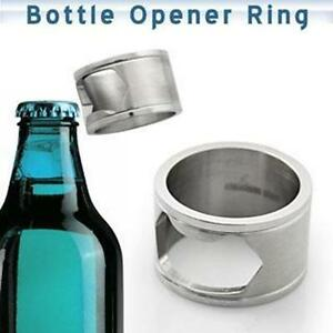 Bottle opener ring, great gift/gadget  High quality stainless steel Mens gift