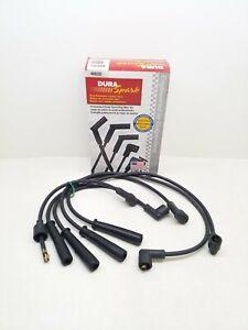 4002D Dura Spark - Spark Plug Wire Set - Duel Conductor Carbon Core - 7mm Black