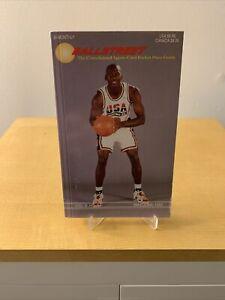 1992 Ballstreet Journal Consolidated Sports Card Pocket Guide Michael Jordan NBA