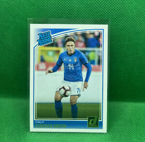 Federico Chiesa Rated Rookie Panini 2018-19 Donruss Soccer #192 Italy