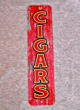 Metal Sign CIGARS tobacco smoker cigar smoke shop smoking man cave garage club