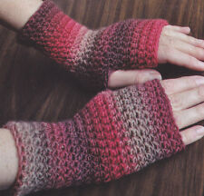 Fingerless Gloves Crochet Pattern For Sale Ebay