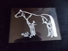 Quarter Horse Side Decal Truck Trailor Car 5X7 Instruction To Apply Picture #2