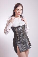 Peau de vache sous poitrine corset cowskin underbust corset