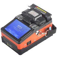 SM&MM Automatic Fusion Splicer Machine Fiber Cleaver Welding Kit A-81S Orange