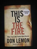 Don Lemon SIGNED BOOK | This Is the Fire FIRST EDITION Hardcover CNN | IN HAND