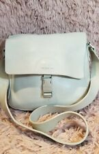 Kenneth Cole Reaction leather shoulder bag biege