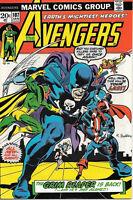 The Avengers Comic Book #107, Marvel Comics Group 1973 VERY FINE-