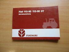 Handbuch Betriebsanleitung  Traktor Fiat 115 - 90 / 115 - 90 DT