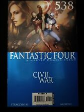 Fantastic Four #538 VF+ The Road to Civil War (May 2006) Marvel Comic