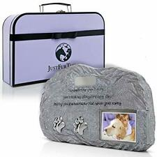 Pet Urn with Picture - Pet Memorial I Pet Urn for Ashes I Pet Urn for Dogs