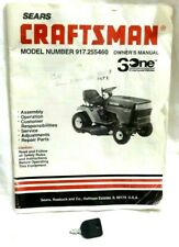 SEARS CRAFTSMAN LAWNMOWER OWNERS MANUAL MODEL NO. 917.2555460 W SPARE KEY