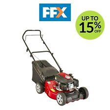 Mountfield HP45 Lawnmower 123cc Hand Propelled Petrol Mower Grass Box Lawn