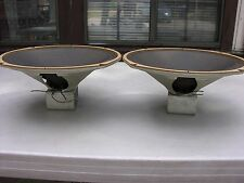 [ 2 ]  MAGNAVOX ALNICO 12'' SPEAKERS MATCHED PAIRS 500801/584081/232038 VINTAGE.