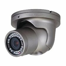 Speco 1080p 2MP 3.6mm HD/COAX IP In/Out Intense IR turret dome camera-#HT6041T