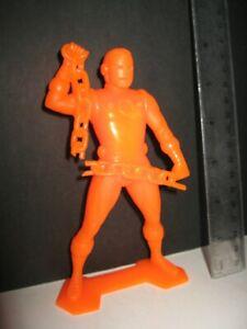 vtg 1967 MARX Orange Plastic IRON MAN 6 Inch Marvel Superhero Figure