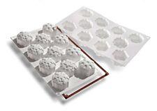 Silikomart Snowflake Mould Christmas Cake Mould Silicone Cake Pan