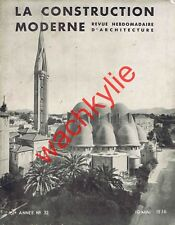 La construction moderne 10/05/1936 Architecture Église Saint-Jeanne d'Arc Nice