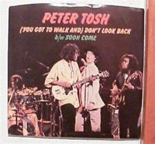 Peter Tosh Promo 45 Rolling Stones Record
