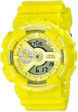 Casio G-Shock GA110 Series Analog-Digital Standard Color Yellow Watch GA110BC-9A
