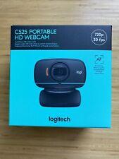 Logitech C525 HD Webcam USB Portable 360 Rotating 720p Free USPS Priority Ship
