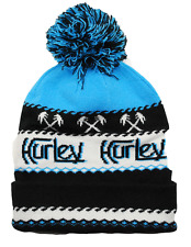 Hurley Original Palm Knit Pom Pom Winter Hat Beanie