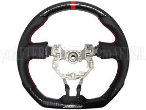 Buddy Club Carbon Fiber Steering Wheel for 13-16 Scion FRS FR-S Subaru BRZ