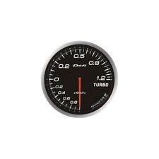 DEFI 60MM ADVANCE BF TURBO 120 BOOST GAUGE WHITE