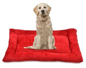 RRC Self Warming Dog Crate Pad - Dog Beds for Large Medium Small Dogs and Cats R