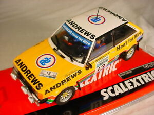 SCX 1/32 Slot Car Talbot Sunbeam #13 Andrews Heat for Hire w/ LIGHTS! A10197 NEW