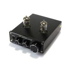FX-Audio TUBE-03 HIFI Treble Bass Buffer 6K4 Tube Preamplifier Black