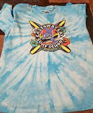 EUC Disney Cruise Line KIDS Castaway Cay Surf School Stitch Shirt YOUTH XL