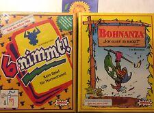 Bohnanza + 6 nimmt Familienspiel Kinderspiel Amigo Kartenspiel OVP NEU